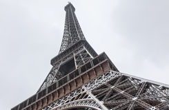 Eiffel Tower in Winter Royalty Free Stock Images