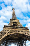 Eiffel Tower at winter time in Paris, France Stock Image
