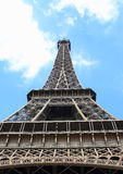 Eiffel Tower. The Eiffel Tower, a wrought iron lattice tower on the Champ de Mars in Paris, France Royalty Free Stock Photo