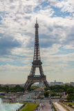 Eiffel Tower. The Eiffel Tower is a wrought iron lattice tower on the Champ de Mars in Paris, France. It is named after the engineer Gustave Eiffel, whose Stock Photos