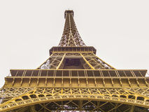 Eiffel Tower. The Eiffel Tower is a wrought iron lattice tower on the Champ de Mars in Paris, France. It is named after the engineer Gustave Eiffel, whose Stock Image