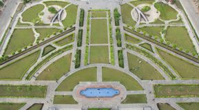 Eiffel Tower Bahria town top view royalty free stock photography
