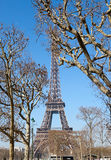 eiffel turnerar france paris Royaltyfria Foton