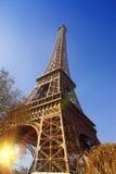 eiffel turnerar france paris Fotografering för Bildbyråer