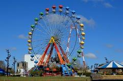 Eiffel wheel in the Parque de la Costa, Tigre, Buenos Aires stock images
