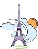 eiffel wierza Paris Zdjęcia Royalty Free