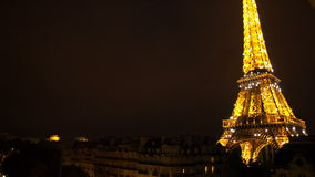 Eiffeltorn lager videofilmer