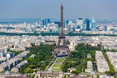 Eiffeltorn från det Montparnasse tornet Royaltyfria Bilder