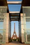 Eiffeltorn i Paris Arkivbilder