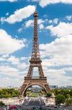 Eiffeltorn i Paris Frankrike Arkivbild