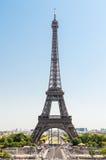 Eiffeltorn i Paris Frankrike Arkivfoto