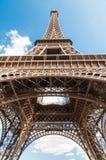 Eiffeltorn i Paris Frankrike Royaltyfri Bild