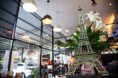 Eiffeltornkopia Fotografering för Bildbyråer