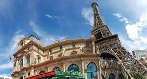 Eiffeltornkopia i Las Vegas royaltyfri bild