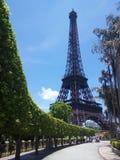 Eiffeltornminiatyr Shenzhen Royaltyfri Fotografi
