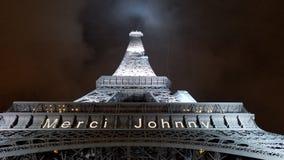 Eiffeltornminnesmärke arkivfoton