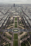 Eiffeltornsiktssydost Arkivfoto