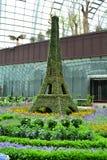 Eiffeltorntopiarykopia Royaltyfria Foton