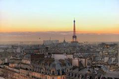 Eiffeltower in Parijs Royalty-vrije Stock Foto's