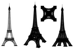 Eiffelturm stock abbildung