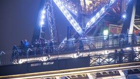 Eiffelturm stock footage