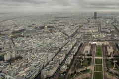 Eiffelturm-Ansicht Ost Lizenzfreies Stockfoto