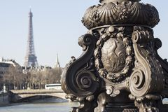 Eiffelturm, Paris lizenzfreies stockfoto