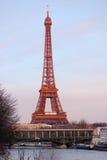 Eiffelturm, Paris Stockfoto