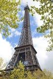 Eiffelturm, Paris Stockfotografie