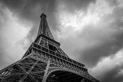 Eiffelturm in Paris stockfotografie