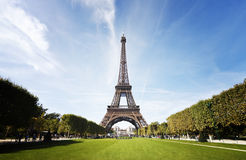 Eiffelturm, Paris Stockbild