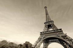 Eiffelturm in Paris Stockbild