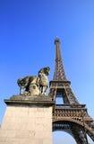 Eiffelturm in Paris Lizenzfreie Stockbilder