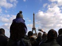 Eiffelturm, Paris Lizenzfreie Stockfotografie