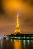 Eiffelturm in Paris eiffel Stockfoto