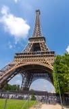 Eiffelturm in Paris, Frankreich lizenzfreie stockfotografie