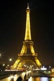 Eiffelturm in Paris, Frankreich. Lizenzfreie Stockfotografie