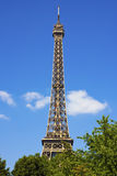 Eiffelturm, Paris, Frankreich lizenzfreie stockfotografie