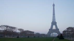 Eiffelturm in Paris, Frankreich stockbild