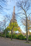 Eiffelturm in Paris, Frankreich Lizenzfreies Stockbild