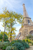 Eiffelturm in Paris, Frankreich Stockfotos