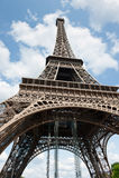 Eiffelturm in Paris frankreich Stockfotografie
