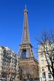 Eiffelturm in Paris, Frankreich Lizenzfreies Stockfoto