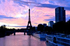 Eiffelturm, Paris-Stadt, Frankreich lizenzfreie stockfotos