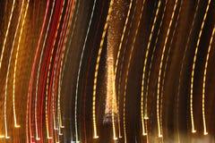Eiffelturm sprudelt stockfotos
