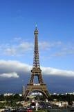 Eiffelturm von Tracadero Stockbild