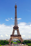 Eiffelturm von Trocadero Stockfoto