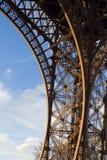 Eiffelturmdetail Stockfotografie