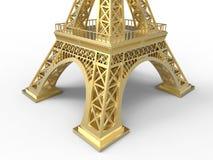 Eiffelturmstruktur lizenzfreie abbildung