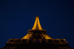 Eiffiel Tower during Night Time Royalty Free Stock Photos